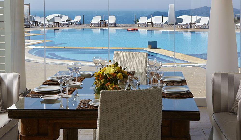 ORIZONTES HOTEL & VILLAS santorini wedding venue 1