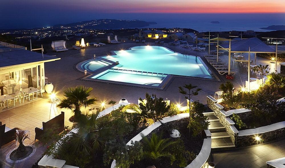 ORIZONTES HOTEL & VILLAS santorini wedding venue 6