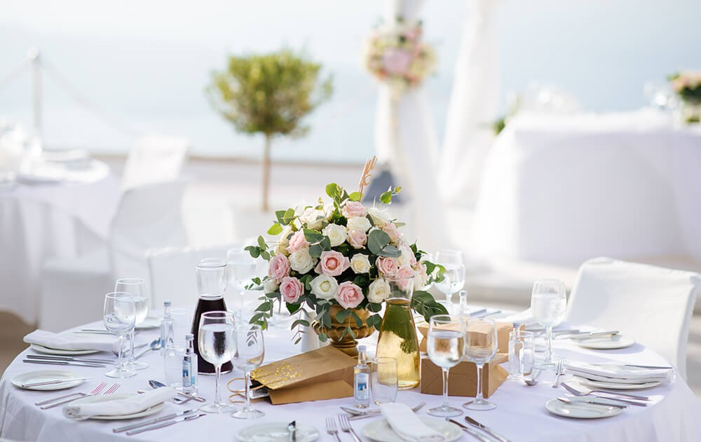 santorini gem wedding location