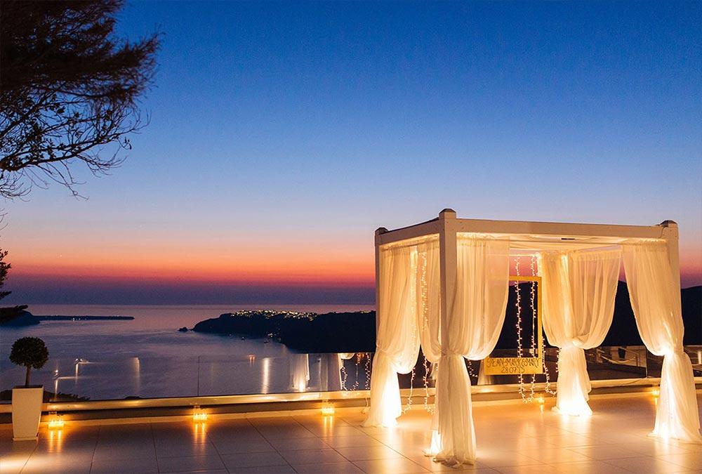 le ciel santorini wedding location 4