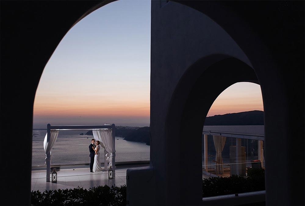 le ciel santorini wedding location 6