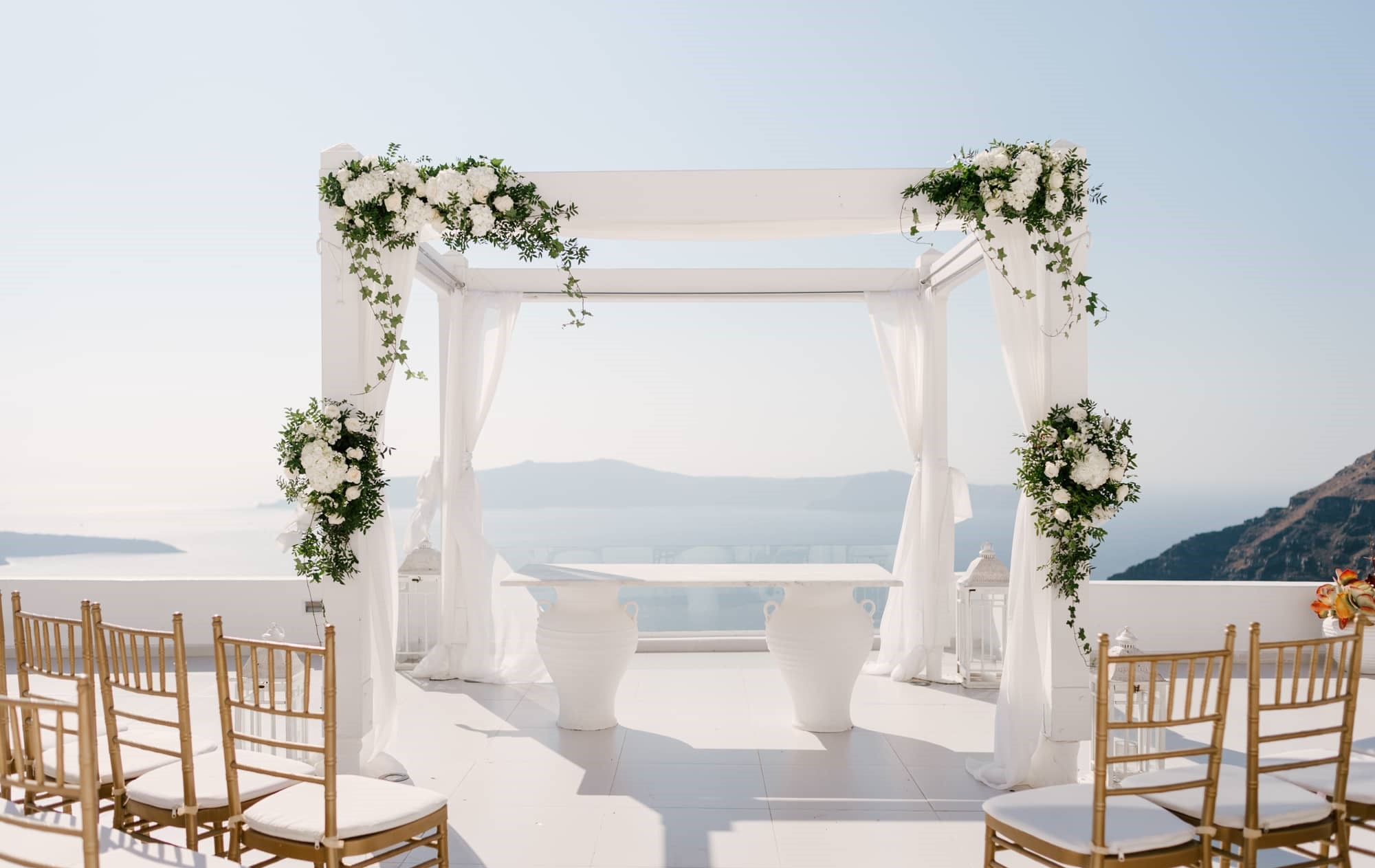 dana villas santorini wedding location 2