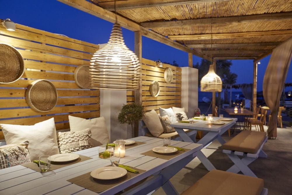 fougaro beach bar santorini wedding 3
