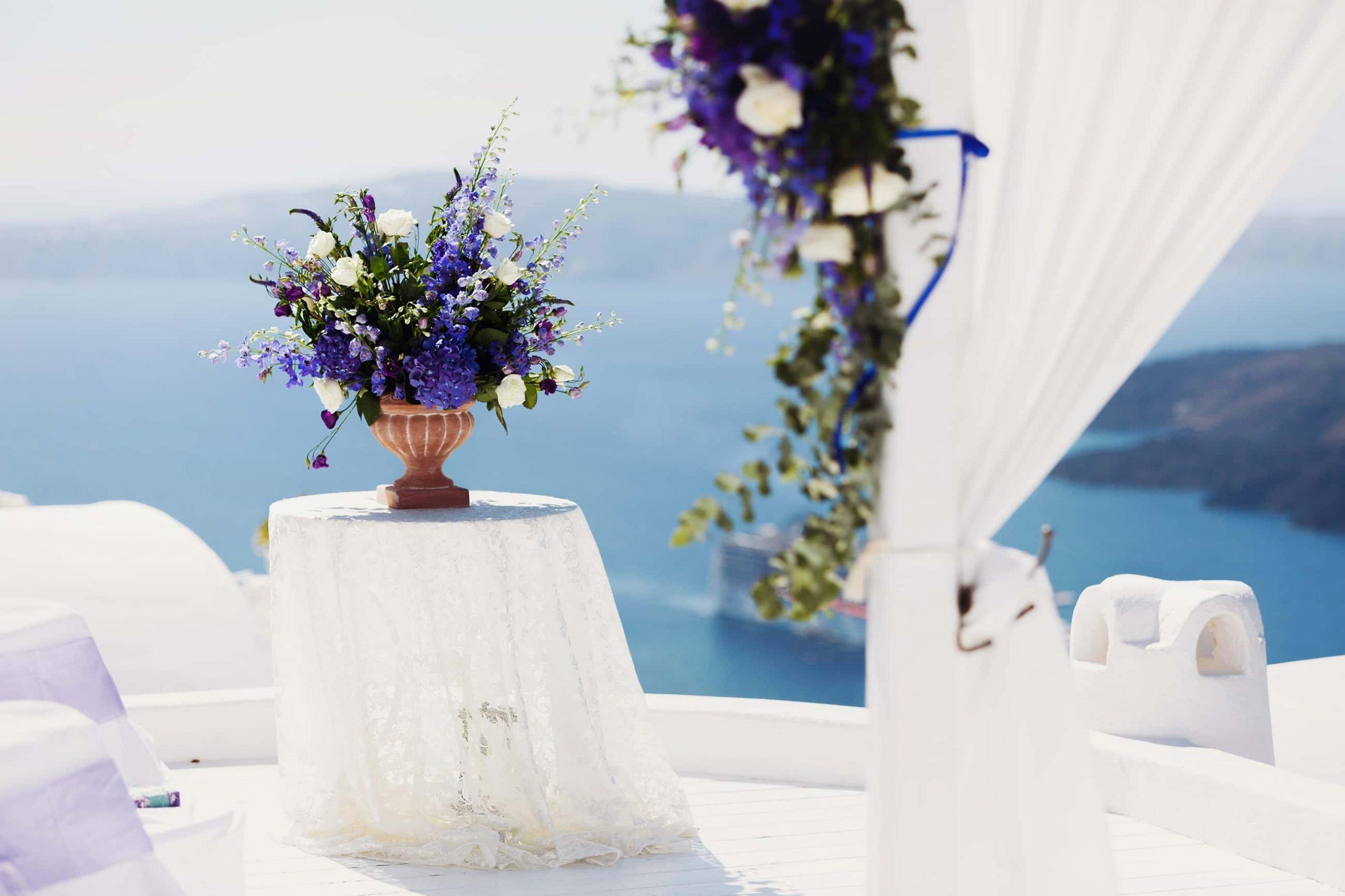 santorini wedding couple 3e