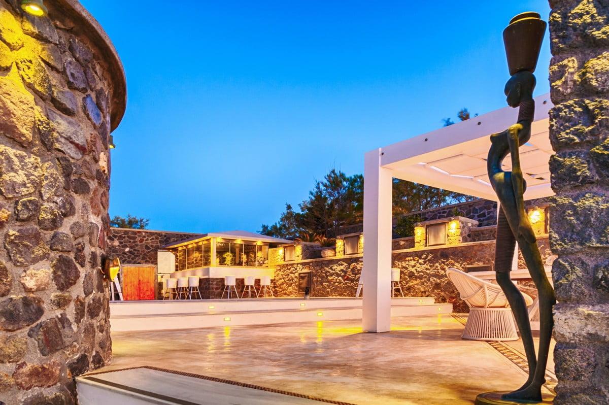 cavo ventus wedding location in santorini